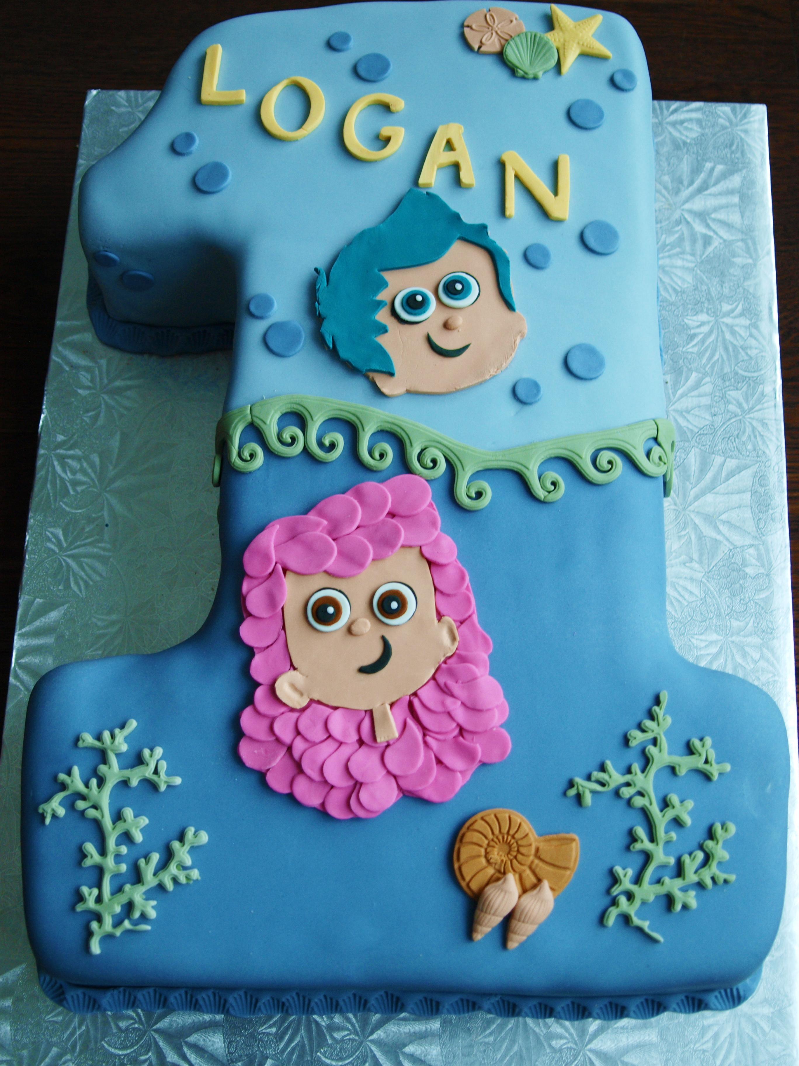 Fabulous Bubble Bubble Bubble Guppies The Cake Tart Funny Birthday Cards Online Hetedamsfinfo