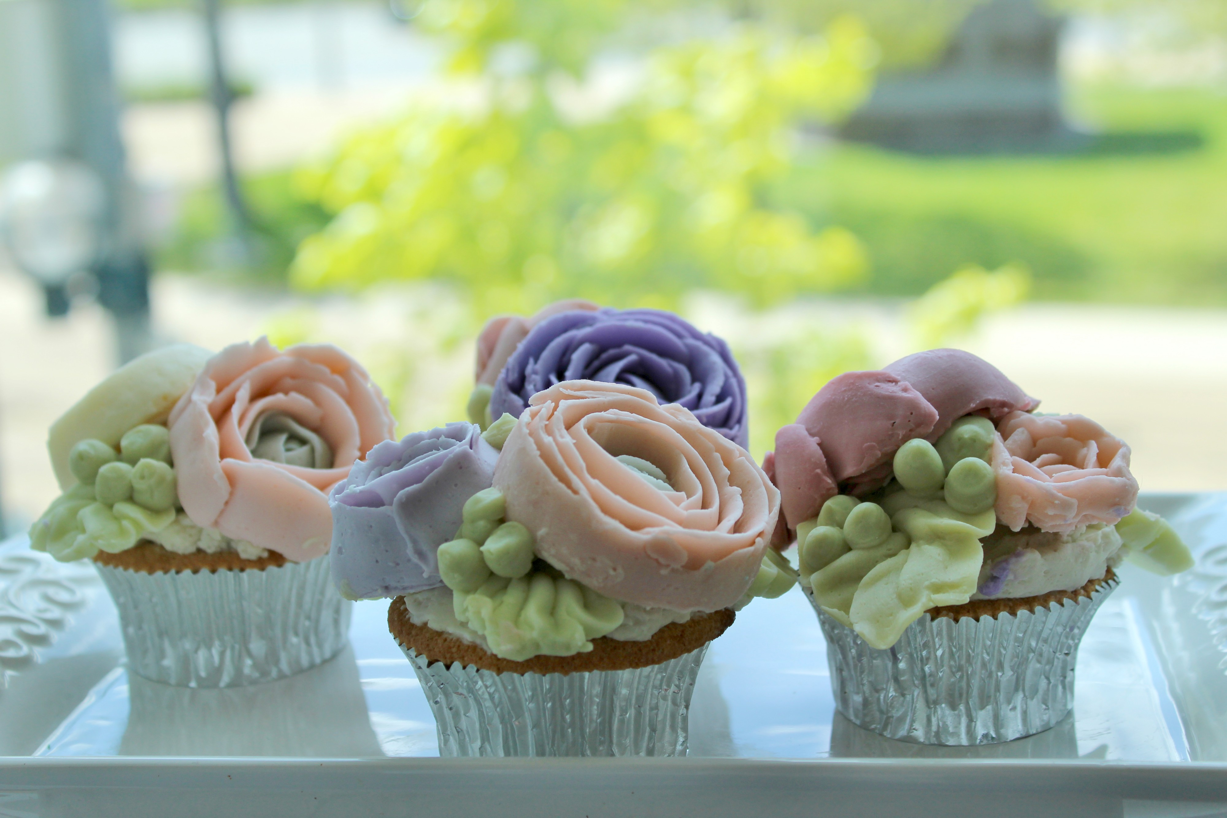 Mothers day flower cupcakes the cake tart mothers day flower cupcakes izmirmasajfo